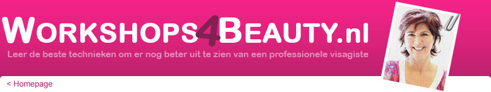 Workshops 4 beauty, veel make-up tips, nagel workshops, 5 minuten make-up, stemple tatoes etc.
